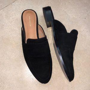 13b9008d7ea4 Halogen Shoes | Nwot Violet Mule Black Suede | Poshmark